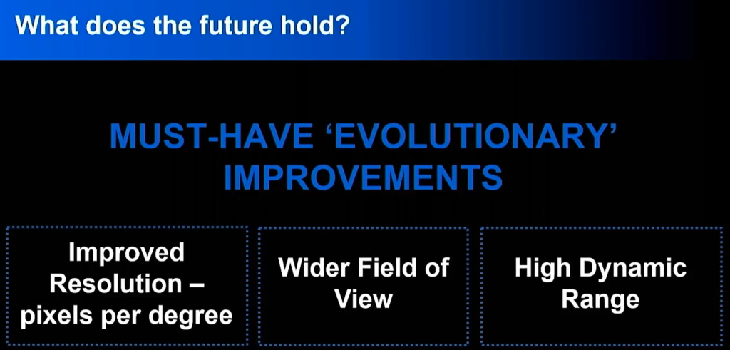 Dominic Mallinson's VR evolutionary improvements