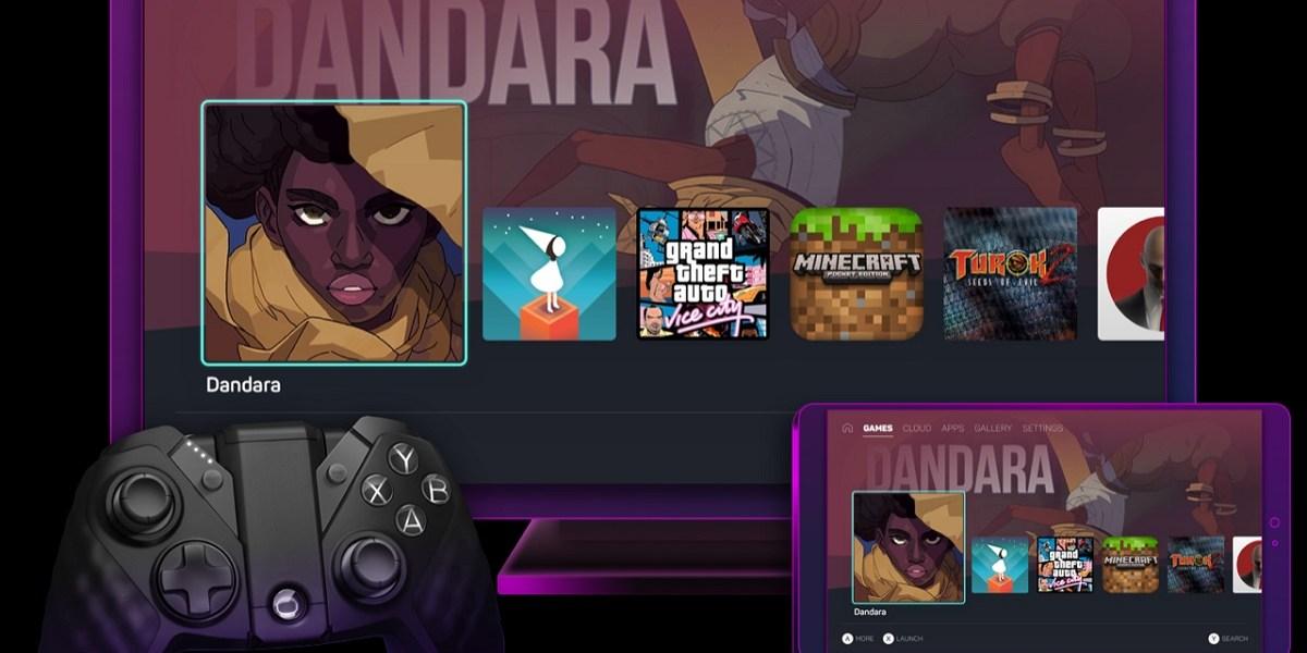WonderOS has a gamer's user interface.