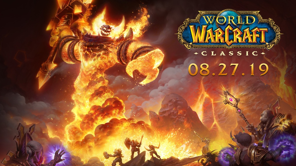 World of Warcraft Classic launches in August.