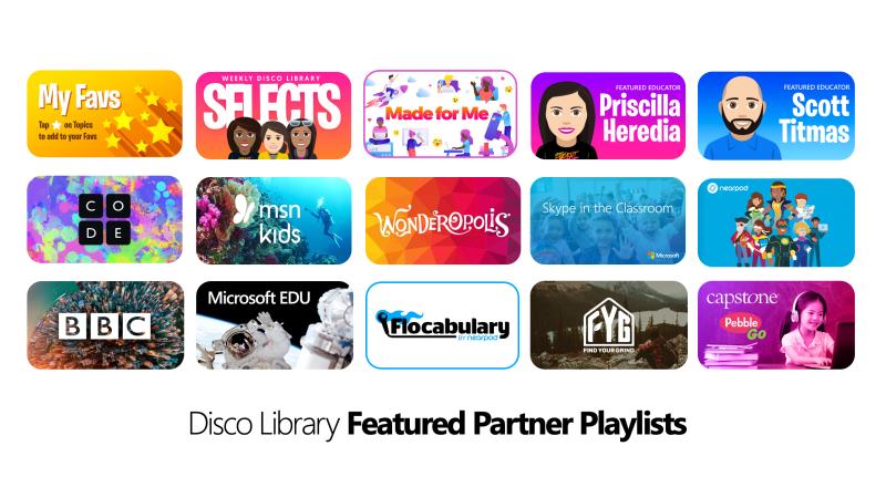 Microsoft FlipGrid Disco