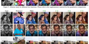 AI video colorization