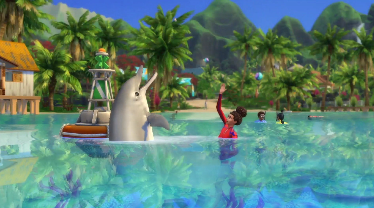 The Sims 4's next expansion is Island Living | VentureBeat