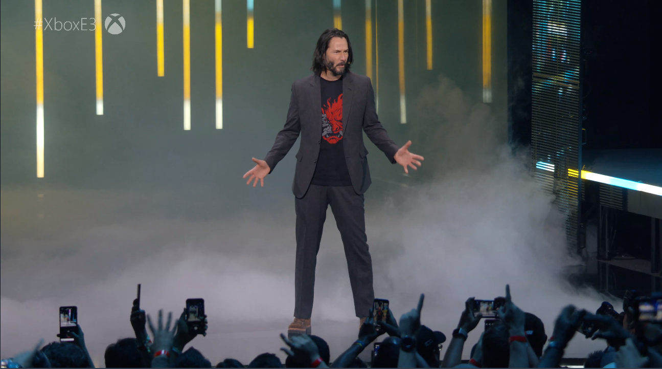 Xbox's E3 conference has been shown during CD Project Red's appearance on-stage.