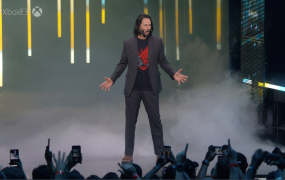 Keanu Reeves is in Cyberpunk 2077.