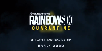 Rainbow Six: Quarantine is a new 3-player co-op shooter
