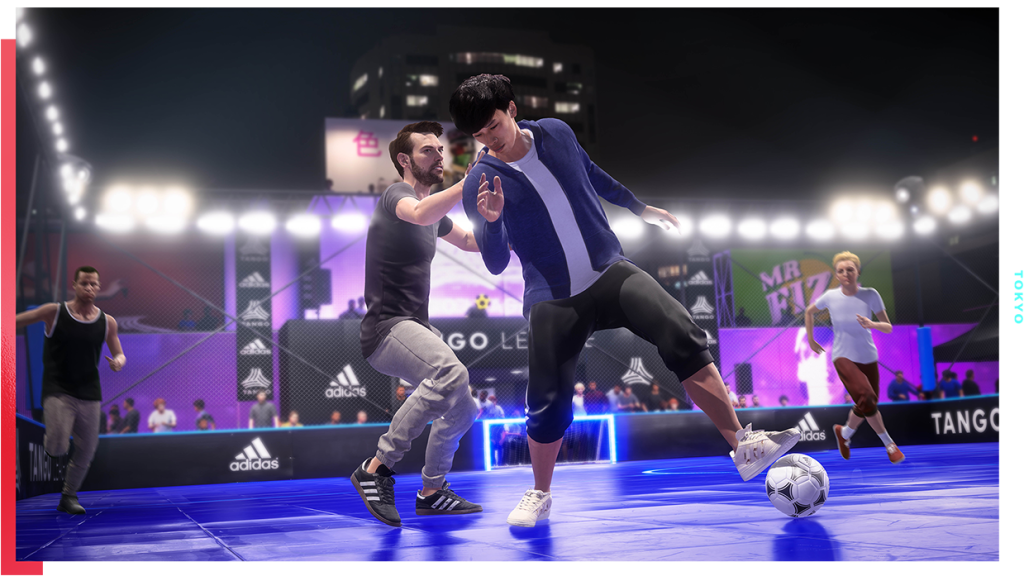Volta is a NBA Street-style mode for FIFA 20.