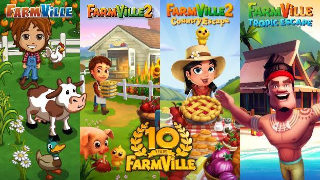 Farmville Tropic Escape 2020 Halloween Event Farmville is getting a new game as series turns 10   VentureBeat