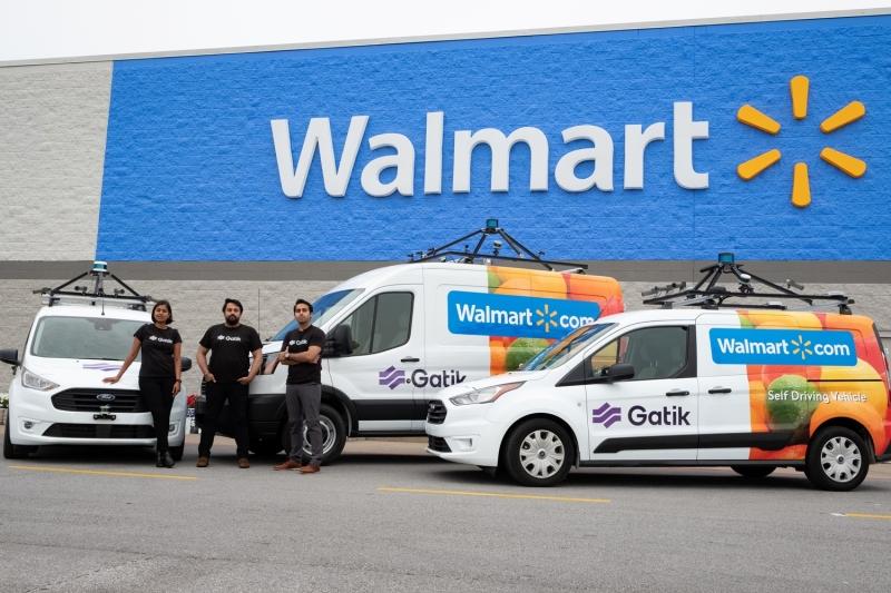 Gatik  Gatik raises $9 million to winterize self-driving box trucks Founders Walmart