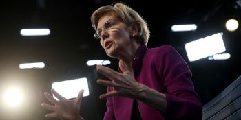 Elizabeth Warren on antitrust: 'What's been missing is courage in Washington to take on the giants'