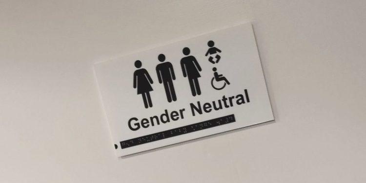 Gender / Gender Neutral sign
