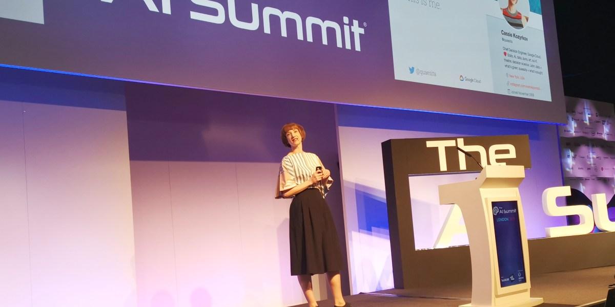 Nicola Mendelsohn, Facebook VP of EMEA, speaking at AI Summit (London) 2019