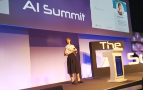 Nicola Mendelsohn, Facebook VP of EMEA, speaking at AI Summit (London) 2019