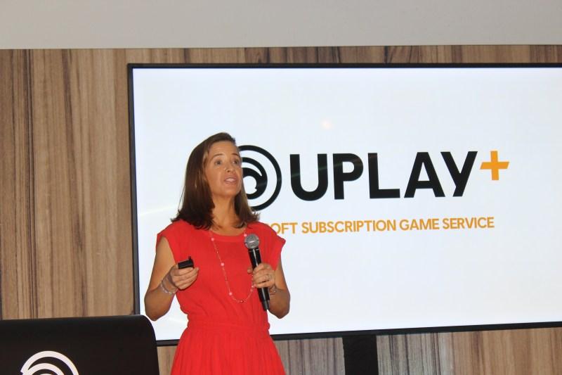 Brenda Panagrossi of Ubisoft.