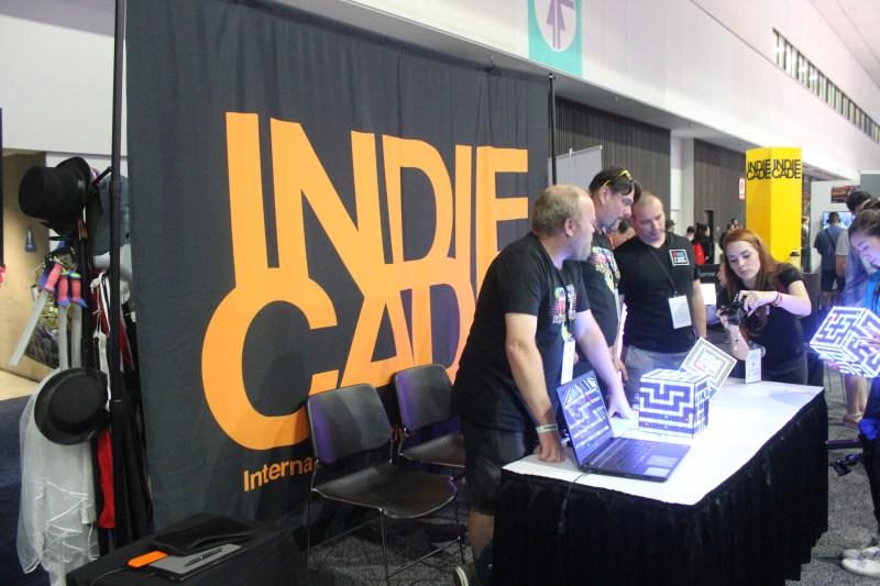 Indiecade booth at E3 2019