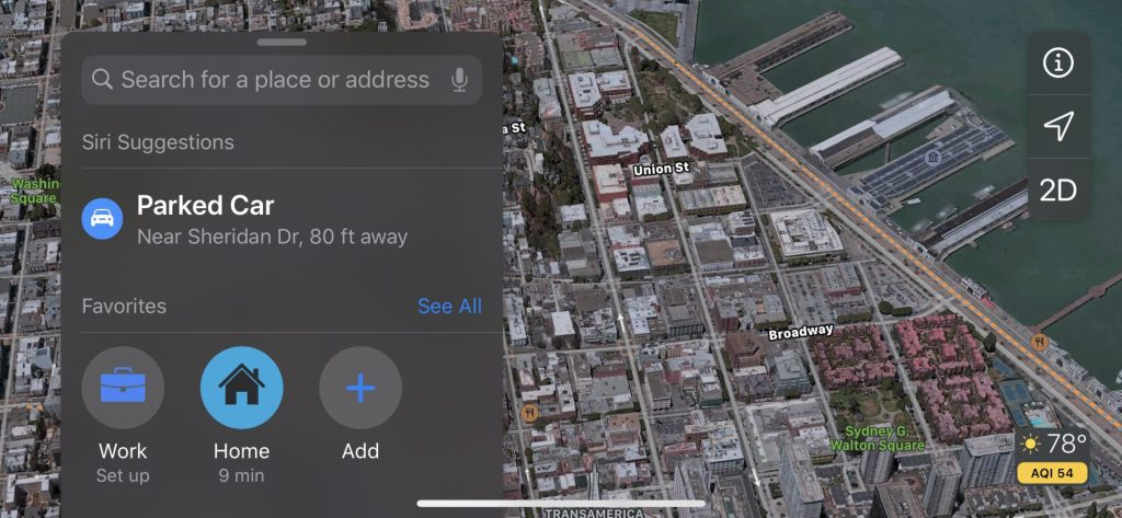 Apple Maps hands-on: Look Around and folders bring depth to