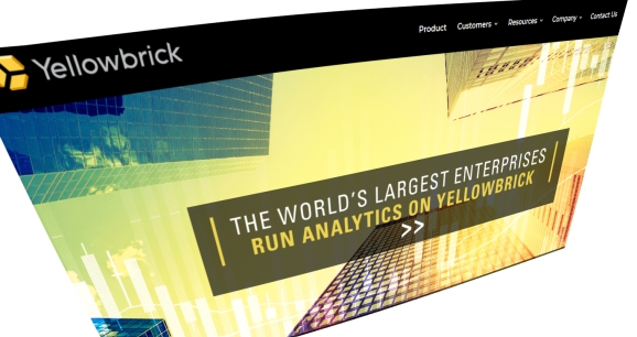 Yellowbrick Data homepage