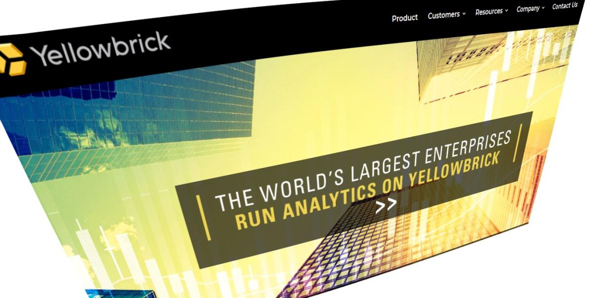 Yellowbrick Data homepage