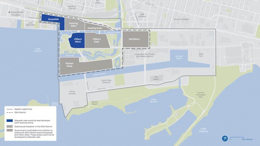 IDEA District -- Sidewalk Labs