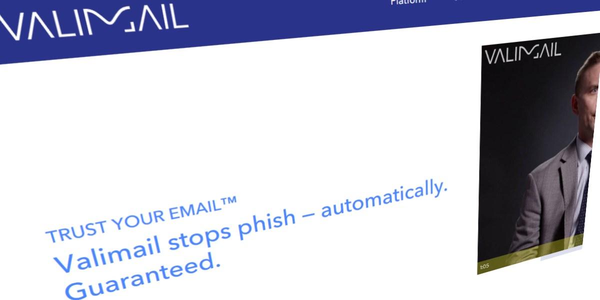 Valimail homepage