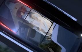 Volvo's 360c concept autonomous car