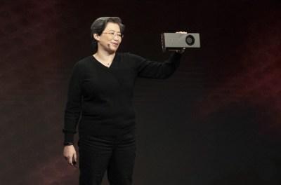 AMD unveils 16-core Ryzen processor and 7-nm Navi graphics chips