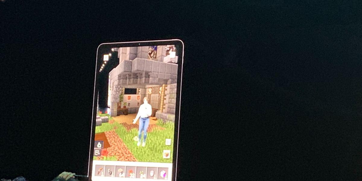 Minecraft in AR