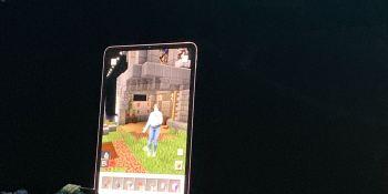Microsoft unveils Minecraft AR at Apple's WWDC