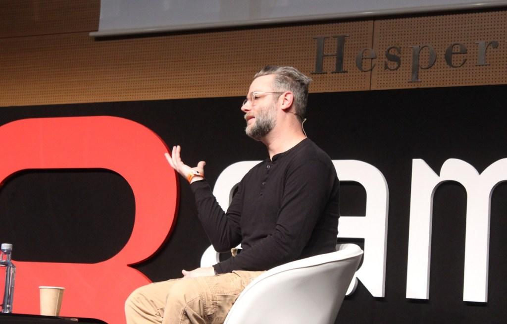 Cory Barlog, creative director at Sony Santa Monica and creator of God of War.