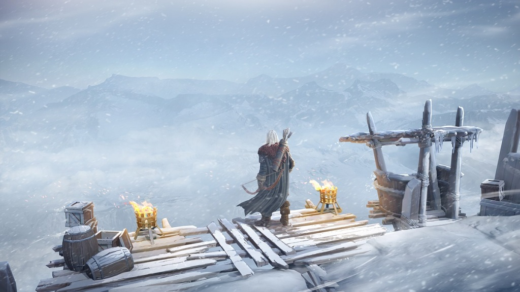 Game of Thrones: Beyond the Wall is a strategy RPG for