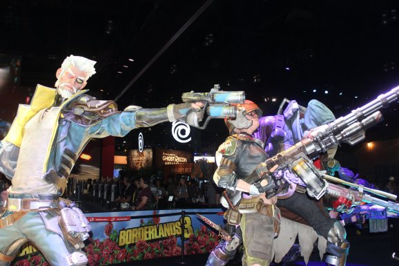 Borderlands 3 booth at E3 2019.