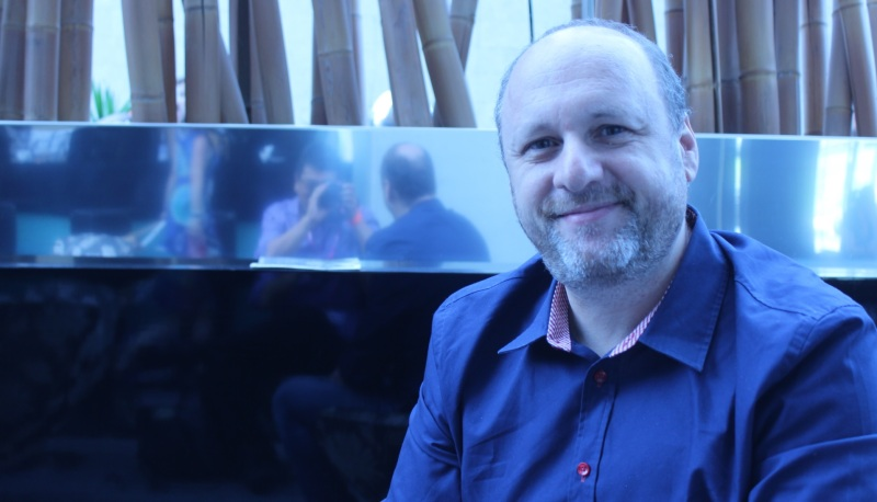 David Cage of Quantic Dream, creator of Heavy Rain, Beyond: Two Souls, and Detroit: Become Human.