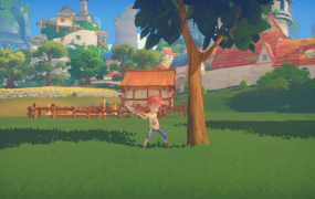 Chopping in My Time at Portia.