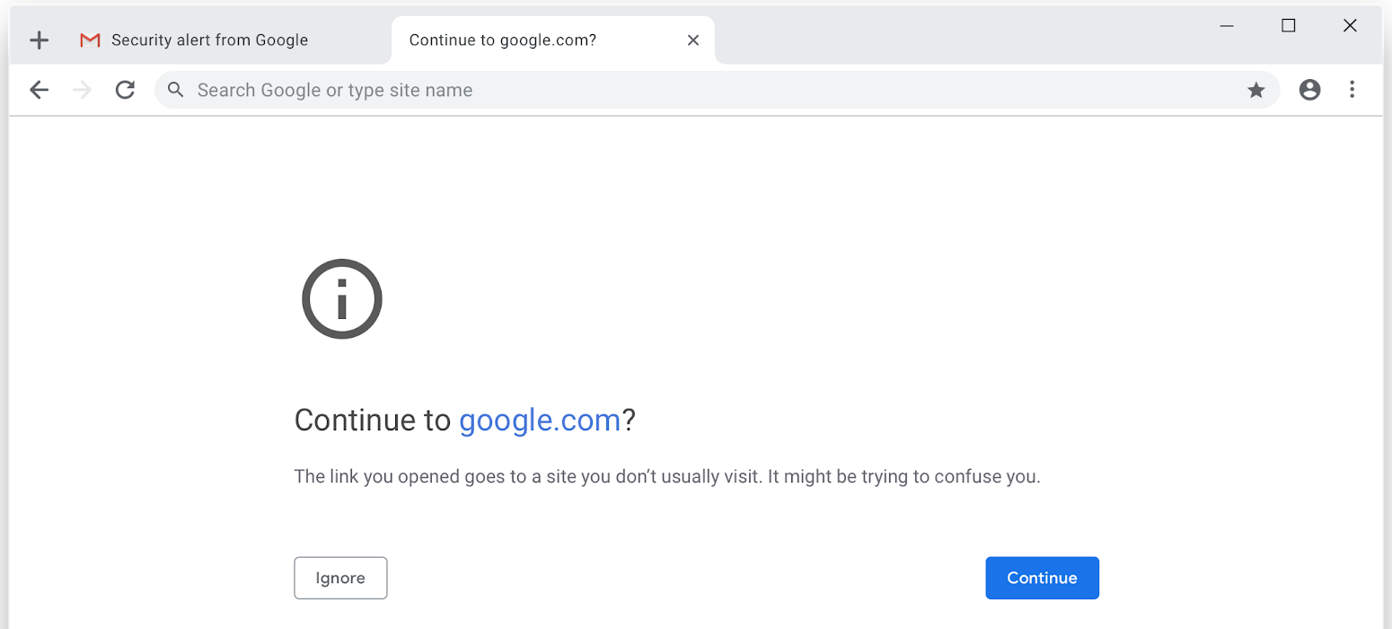 Google's Safe Browsing service gets its own Chrome