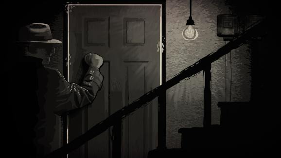 When the Gestapo comes for you, it's over. A scene from Through the Darkest of Times.