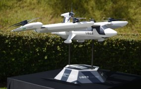 Uber drone delivery