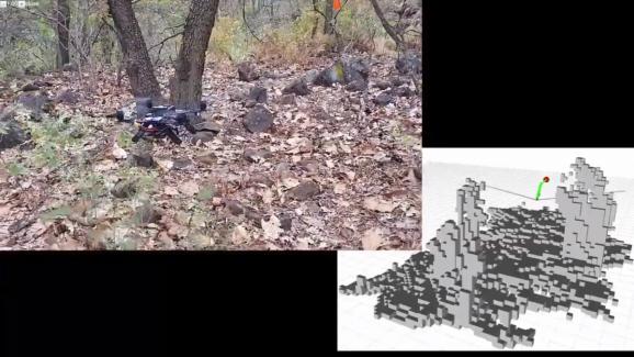 Drone AI navigation