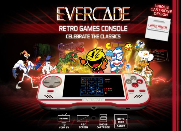 Evercade is a new handheld for classic Atari, Interplay, and