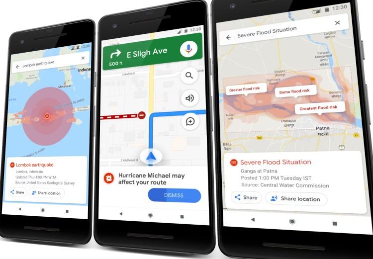 SOS Alerts: Google