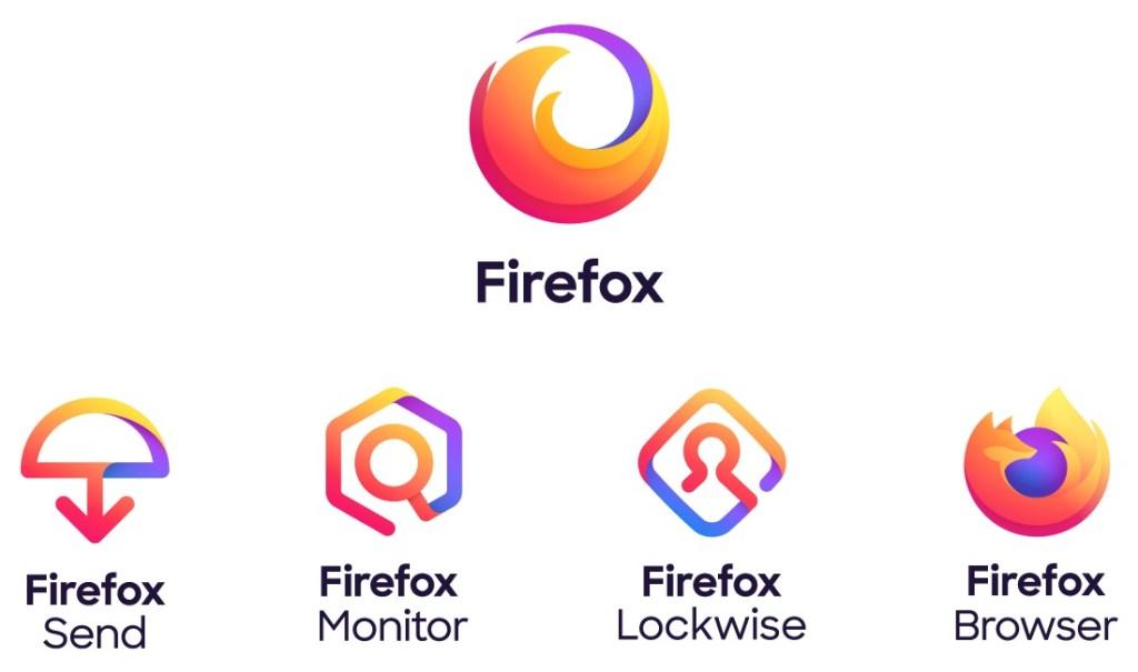 Firefox family logos