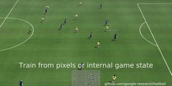 Google open-sources soccer reinforcement learning simulator