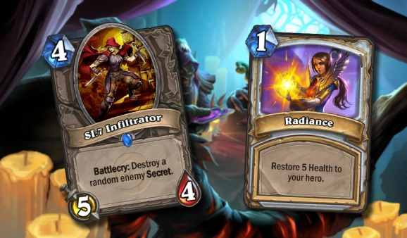 New cards for Hearthstone.