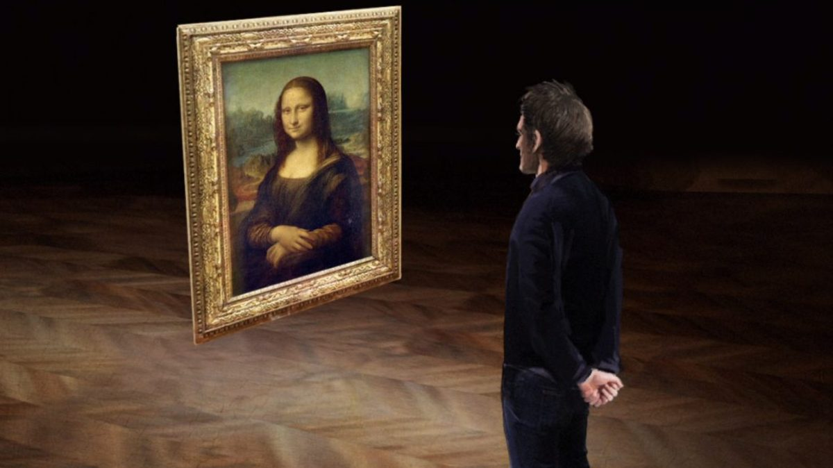HTC Vive creates a Mona Lisa VR experience for the Louvre and Viveport