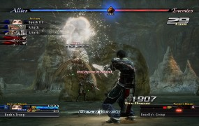 The Last Remnant in action.
