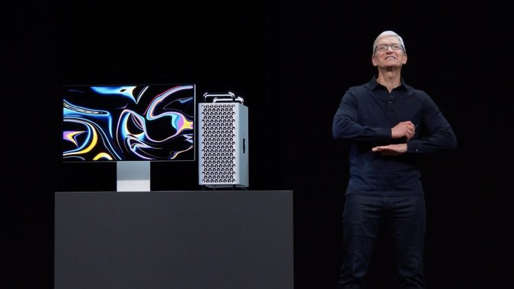 Mac Pro 2019: Tim Cook at WWDC 2019