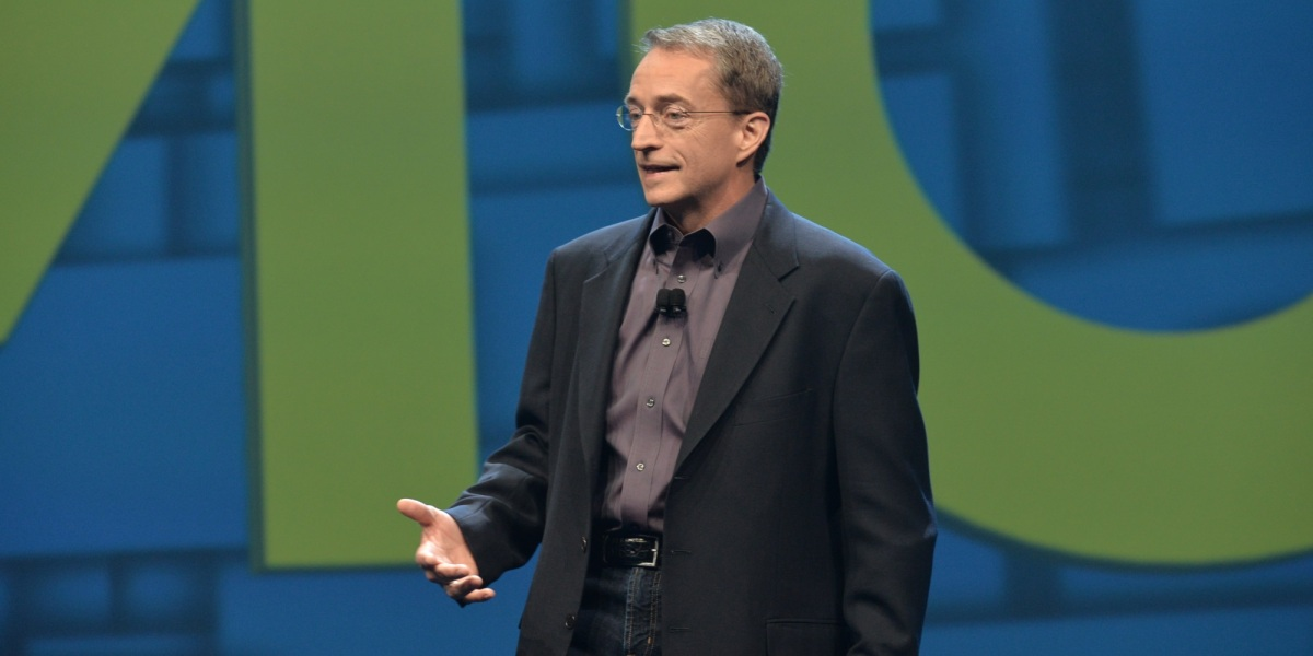 VMware CEO Pat Gelsinger at VMworld 2016