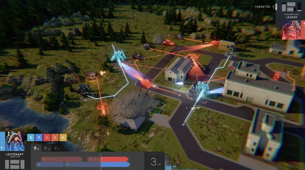 Phantom Brigade is a clever turn-based tactical role-playing game.