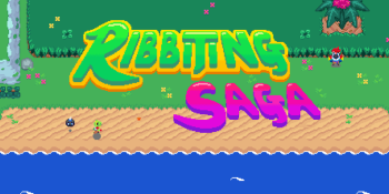 Ribbiting Saga is A Link to the Past with a frog