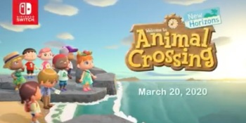Animal Crossing: New Horizons is coming in 2020.