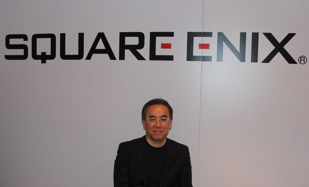 Yosuke Matsuda is CEO of Square Enix.