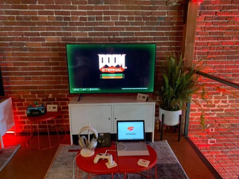 Google Stadia runs games like Doom Eternal.